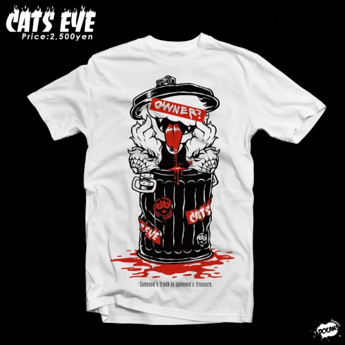 CATS EYE×DOCAN! 2015Tシャツ